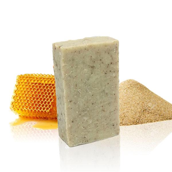 Savon exfoliant gowé & miel