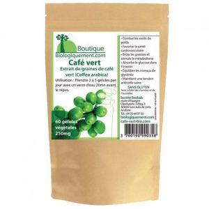 cafe vert bio en gelules